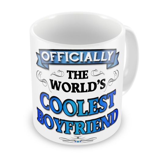 Officially The Worlds Coolest Novelty Gift Mug - Blue